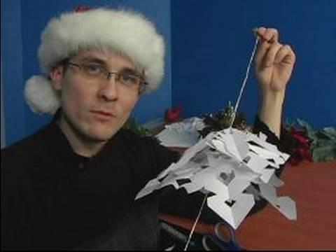 Nasıl Kağıt Kar Taneleri İçin Noel Süsleri Yapmak: Kağıt Kar Taneleri Asmak İçin İpuçları
