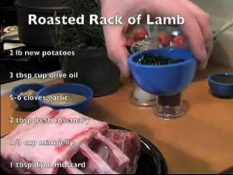 Kavrulmuş Rack Kuzu Tarifi: Malzemeler Rack Kuzu Kavurma İçin