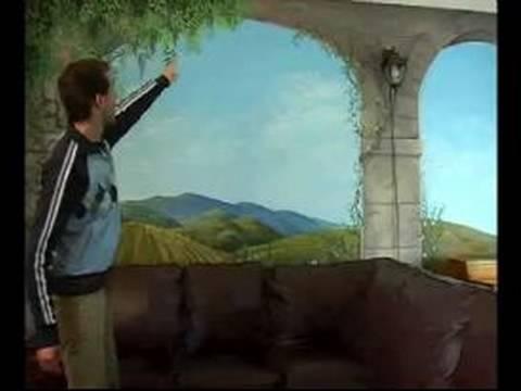 Nasıl Boya Duvar Resimleri İçin: Kompozisyon İpuçları İçin Bir Duvar Duvar Resmi