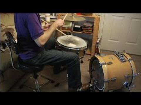 Davul Temel Vuruş Çeşitleri: Cilt 2 : Bas Ritimleri İle Drum Drum Beat Varyasyon 2 & 3