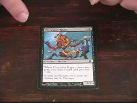 Siyah Kartları: Magic Toplama Oyunu: Phyrexian Rager Siyah Kart Büyüye Toplama