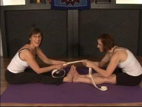 Partner Yoga Kılavuzu: Partner Yoga Çift Paschimottanasana