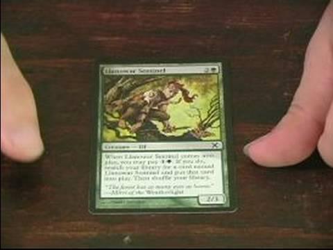 Magic The Gathering: Yeşil Kart İçin Rehber: Magic The Gathering'da Llanowar Sentinel Yeşil Kart