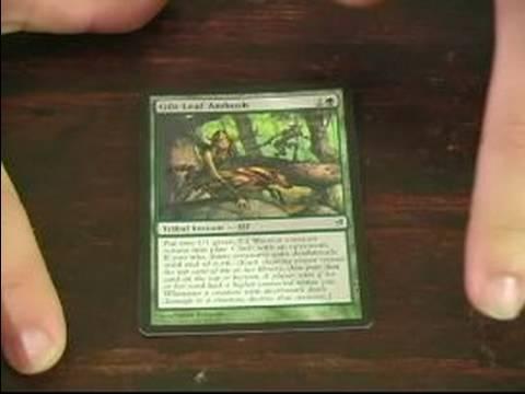 Magic The Gathering: Yeşil Kart İçin Rehber: Suçluluk Yaprak Yeşil Kart Sihirli Toplama Pusuya Düşürmek