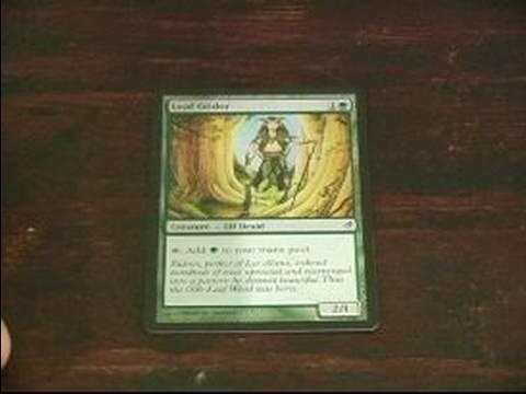 Magic The Gathering: Yeşil Kart İçin Rehber: Yaprak Gilder Magic The Gathering'da Yeşil Kart