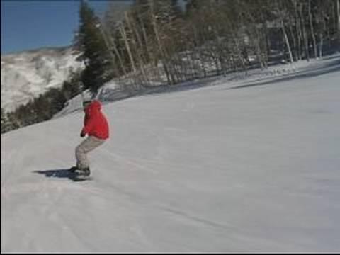 Gelişmiş Snowboard İpuçları: Dinamik Ücretsiz Oyma Bir Snowboard Üzerinde
