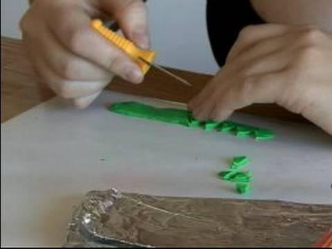 Bir Tütsü Brülör Yapmak İçin Nasıl : Clay Mantar Tütsü Brülör İçin Ot