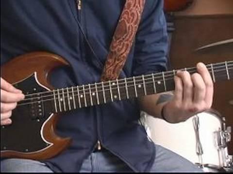Nasıl Gitar Rock Grubu Gelen Melodileri Oynamak İçin : Oyun