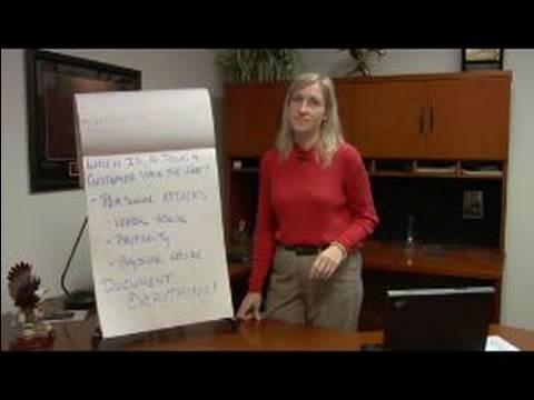Kötü Niyetli Müşteriler: Müşteri Servis Eğitim: Müşteri Hizmetleri Her Şeyi Belgelememiz