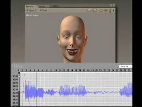 Poser Yazılım Karakterlerle Konuşuyor: Set İlişkilendirme Poser Karakter Konuşmak Oluşturmak İçin Kullanma