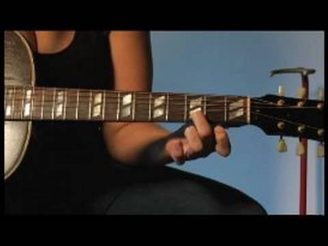 Ücretsiz Gitar Dersi: Majör Akorları Fingerpick Nasıl Fingerpicking Blues Ülke :