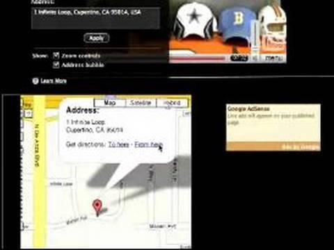 Nasıl Bir Web Sitesi Kullanarak İweb Tasarım: İweb İçinde Bir Google Harita Ekleme