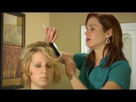 Nasıl İçin Curl Ve Stil Kısa Saç: Yerleştirerek Ve Kısa Saç Kıvırma İçin Düzgünleştirme