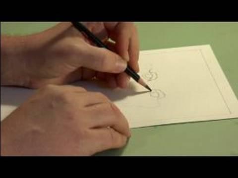 Nasıl Coquille Kağıt Üzerinde Bir Portre Çizmek İçin : Portre Çizim İpuçları