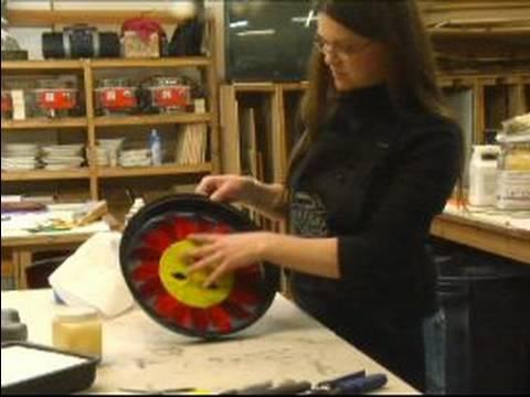 Nasıl Vitray Basamaklardır Yapmak İçin : Renkli Cam Parçaları Düzenlemek İçin Nasıl: Bölüm 2