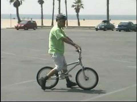 Bmx Hileci Ve Emanet: Geriye Doğru Bir Bmx Bisiklet Sürmeyi