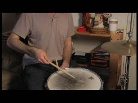 Davul Vuruş Teknikleri : Tuzak Fransız Aşağı Strok Davul