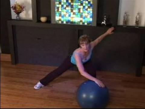 Nasıl Bir Kardiyo Top İle Egzersiz : Geniş Yığın Kardiyo Topu İle Egzersiz