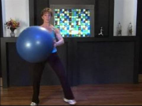 Nasıl Bir Kardiyo Top İle Egzersiz : Üç Adımlı V Kardiyo Topu İle Egzersiz