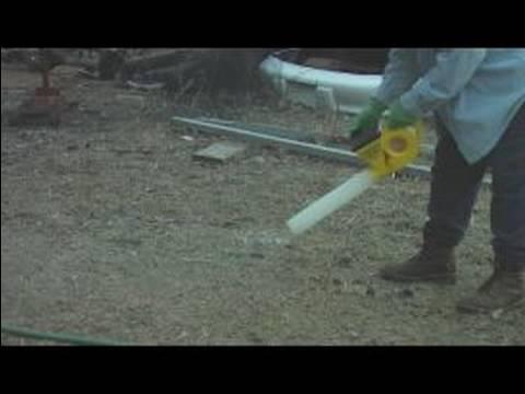 Fan Destekli Çim Bakımı, İlaçlama Makinesi : Çim Fırçası İle Uygun Kapsama Almak