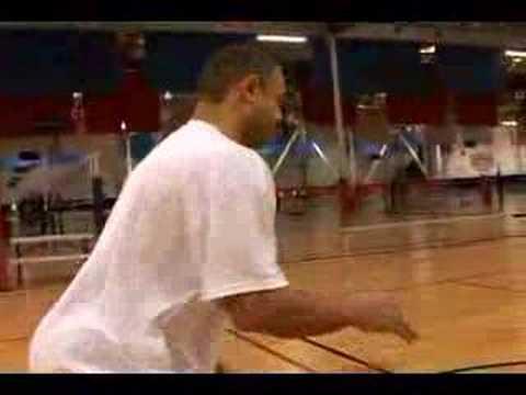 Nasıl Profesyonel Basketbol Oynamak İçin : İki Salya Basketbol Matkap