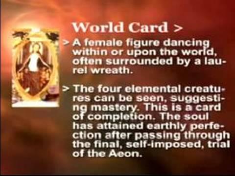 Nasıl Tarot Kartları Oku: Dünya Tarot Kartı Anlamını
