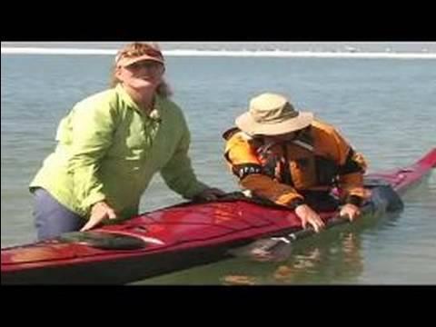 Deniz Kayağı İçin Nasıl: Bir Kayık Rulo İçin Ayarlama