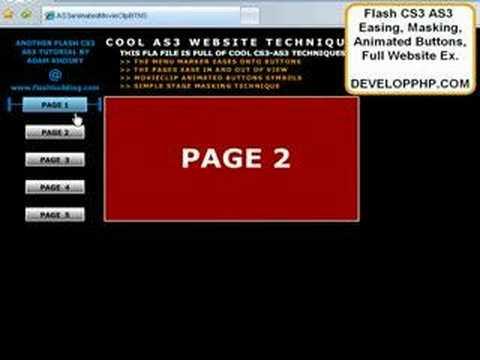 Actionscript 3.0 Öğretici Basit Yardım Cs3 Cs4 Cs5 Hareket Hızı İle Galerisi Flash Cs5.5