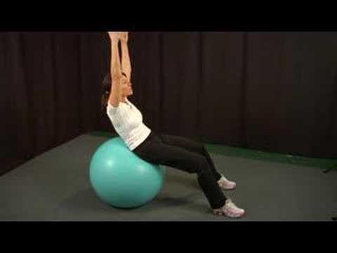 İstikrar Ball Ab Egzersizleri: İstikrar Ball Ab Egzersizleri: Egzersizi Gelişmiş