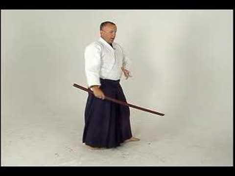 Aikido Dövüş Kılıç: Ken-Gi Bir: Köşe Shomenuchi Yaptı: Bölüm 2
