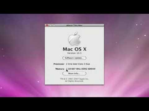 Mac Os X Leopard Genel Bakış: Mac Os X Leopard Bilgi