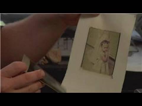 Yaratıcı Fotoğraf: Polaroid Transferler : Kağıttan Kese Polaroid Baskı