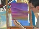 Yağlıboya Resim İpuçları: Nasıl Bir Gündoğumu Boya: Sarı Yağlıboya Resim Sunrise İçin Ekleme