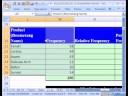 Excel İstatistik 13: Sütun Grafiği Frekans Dağılımı: