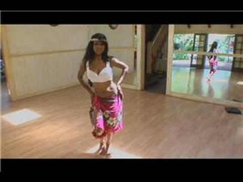Tahitian Hula Dansı : Tahitian Hula Dansı: Amı Hip Roll