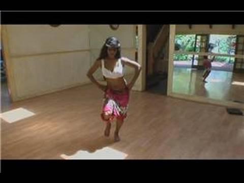 Tahitian Hula Dansı : Tahitian Hula Dansı: Uwehe Diz