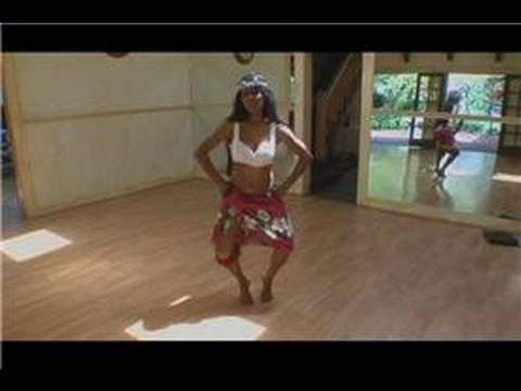 Tahitian Hula Dansı : Tahitian Hula Dansı: Uwehe Hareketi