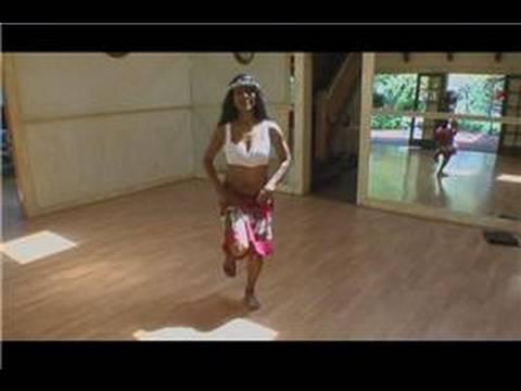 Tahitian Hula Dansı : Tahitian Hula Dansı: Uwehe