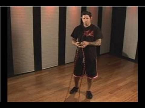 Kickboks Fitness: İp Atlama Egzersiz: Kickboxing Fitness: Hop Büküm İp Atlama
