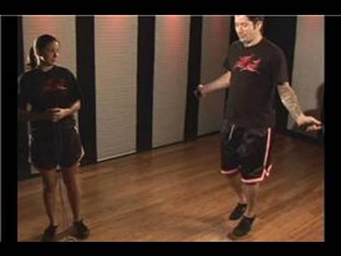 Kickboks Fitness: İp Atlama Egzersiz: Nasıl İp Atlamak İçin: Kickboxing Fitness