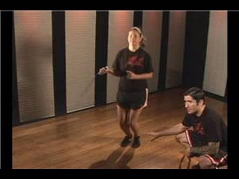 Kickboks Fitness: İp Atlama Egzersiz: Nasıl İp Atlamak İçin: Yan Swing Tekniği