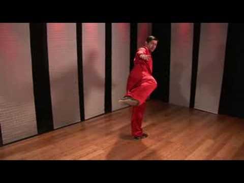 Kung Fu Tekme Kombinasyonları : Kung Fu Kombinasyonları: Hilal Tekme İçinde Yan Tekme Ve Atlama