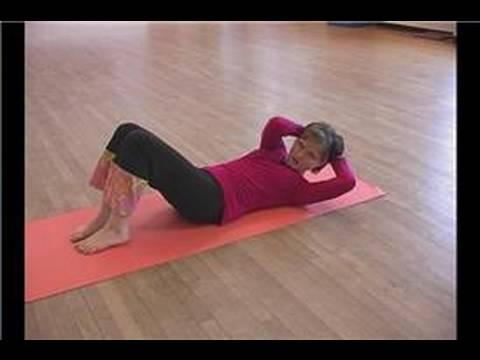 Pilates Isınma Egzersizleri : Göğüs Germe, Döndürme Pilates İle Egzersiz