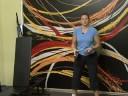 İstikrar Topu Egzersiz: İstikrar Ball: Duvar Genel Gider Basın İle Ağız Kavgası