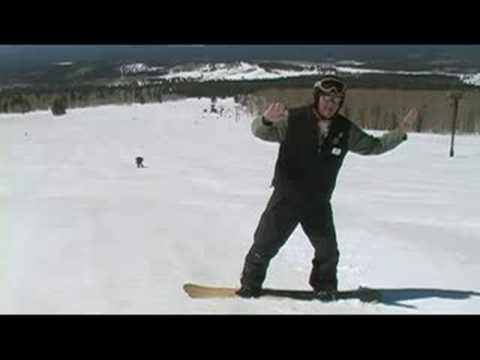 Snowboard: Ayak Yan Snowboard Çelenk