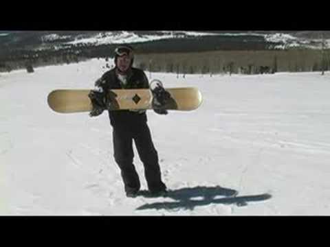 Snowboarding: Snowboard Döner Kavisli