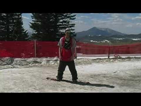 Snowboarding: Snowboard Temel Pozisyon