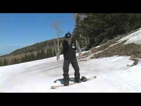 Snowboarding: Snowboard Yaparken Kayma Düz