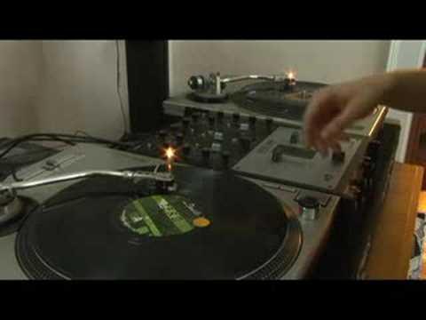 Tırmalamak Dj Teknikleri: Orta Çizik : Tırmalamak Dj Teknikleri: Kanal Ses Geçişi Ayar Düğmesi