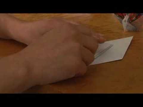 Temel Origami Formları : Origami: Crane Fantail Bölüm 2
